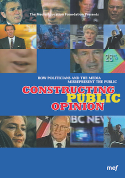 Constructing Public Opinion – politicians, media & the public