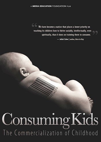 Consuming Kids: The Commercialization Of Childhood documentary poster LARGE