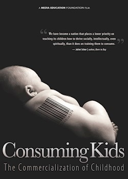 Consuming Kids: The Commercialization Of Childhood documentary poster THUMBNAIL