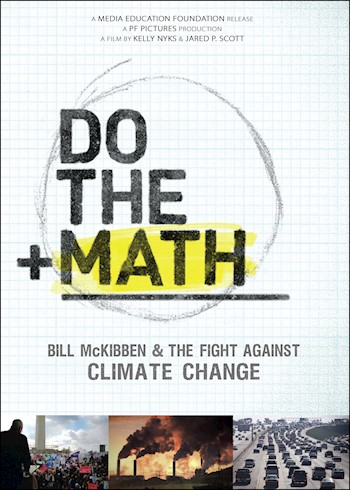 Do The Math: Bill McKibben & The Fight Against Climate Change documentary poster LARGE