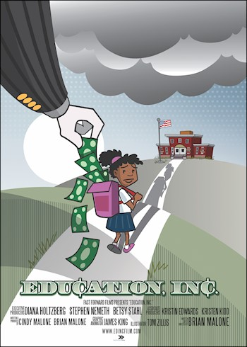 Education, Inc.: A Film On Privitization & Public Education documentary poster LARGE