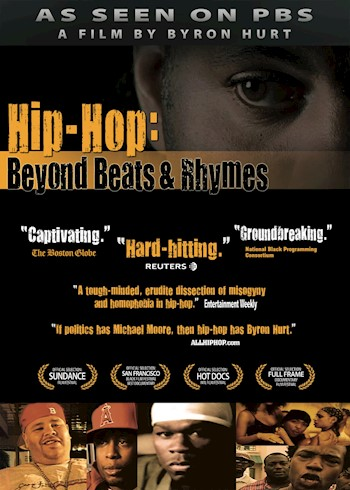 Hip-Hop: Beyond Beats & Rhymes documentary poster LARGE