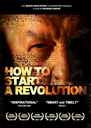 How To Start A Revolution: The Blueprint For Change That Is Rocking The World Featuring Gene Sharp documentary poster LARGE