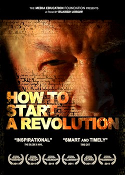 How To Start A Revolution: The Blueprint For Change That Is Rocking The World Featuring Gene Sharp documentary poster THUMBNAIL