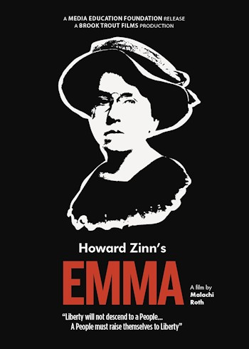 Howard Zinn's Emma: A Filmed Play About Emma Goldman poster LARGE