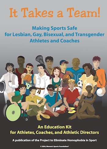 It Takes A Team!: Making Sports Safe For Lesbian, Gay, Bisexual & Transgender Athletes & Coaches documentary poster LARGE