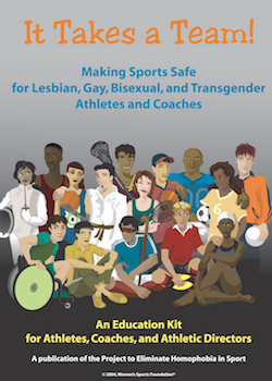 It Takes a Team! - Sports, LGBT Athletes & Coaches MAIN