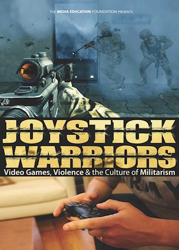 Joystick Warriors: Video Games, Violence & The Culture Of Militarism documentary poster LARGE