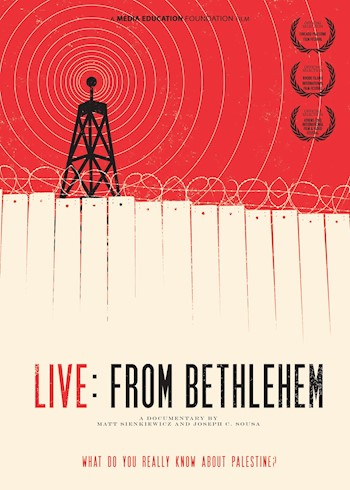 Live: From Bethlehem documentary poster LARGE