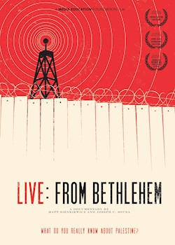 Live: From Bethlehem documentary poster THUMBNAIL