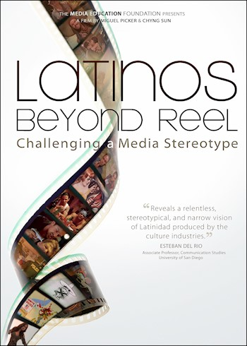 Latinos Beyond Reel: Challenging A Media Stereotype documentary poster LARGE