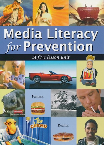 Media Literacy For Prevention: A Five Lesson Unit poster LARGE
