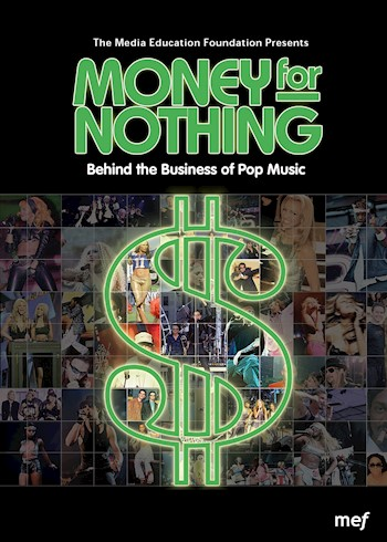 Money For Nothing: Behind The Business Of Pop Music documentary poster LARGE
