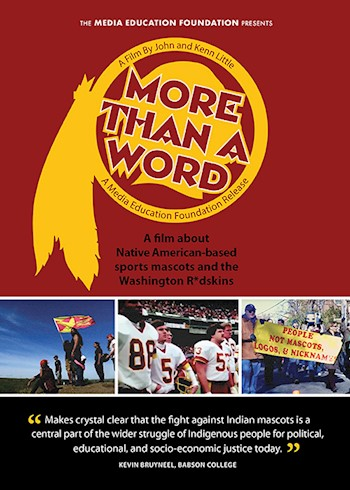More Than A Word: Native American-based Mascots & The Washington Team documentary poster LARGE