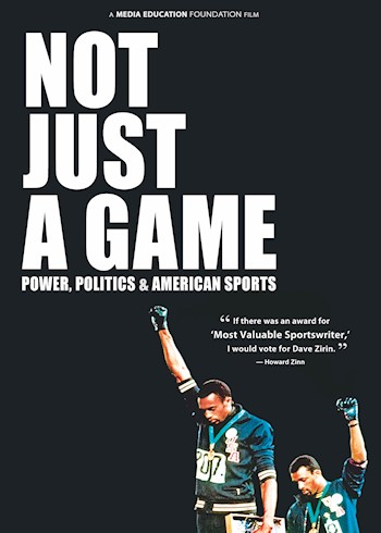 Not Just A Game: Power, Politics & American Sports documentary poster LARGE