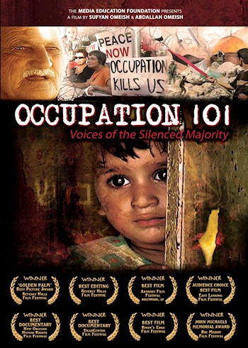 Occupation 101: Voices Of The Silenced Majority documentary poster LARGE