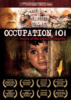 Occupation 101: Voices Of The Silenced Majority documentary poster THUMBNAIL