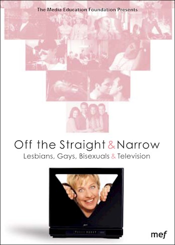 Off The Straight & Narrow: Lesbians, Gays, Bisexuals & Television, 1967-1998 documentary poster LARGE