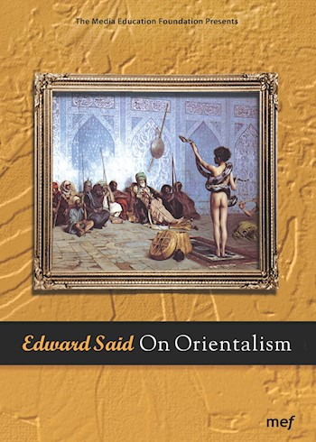 Edward Said: On Orientalism documentary poster LARGE