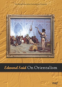 Edward Said: On Orientalism documentary poster THUMBNAIL