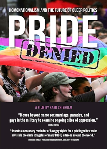 Pride Denied: Homonationalism & The Future Of Queer Politics documentary poster LARGE