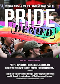 Pride Denied: Homonationalism & The Future Of Queer Politics documentary poster THUMBNAIL