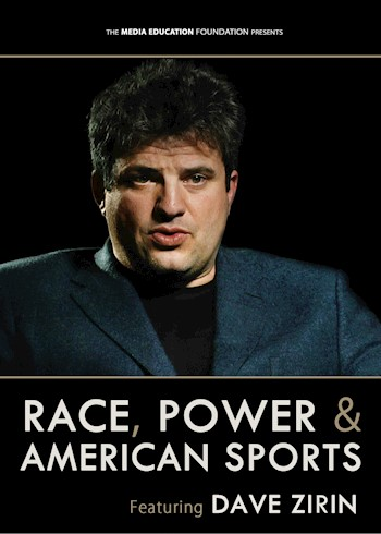 Race, Power & American Sports: Featuring Dave Zirin documentary poster LARGE