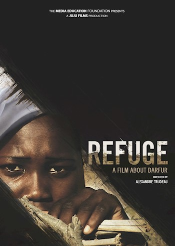 Refuge: A Film About Darfur documentary poster LARGE