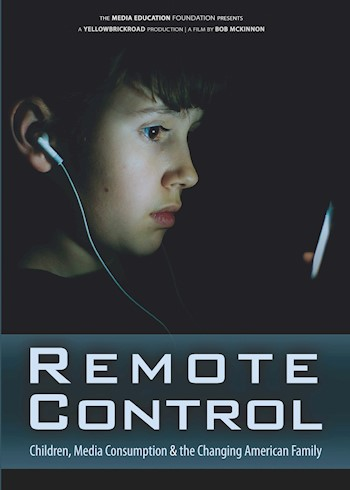 Remote Control: Children, Media Consumption & The Changing American Family documentary poster LARGE