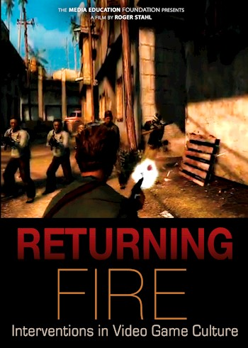 Returning Fire: Interventions In Video Game Culture documentary poster LARGE