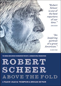 Robert Scheer: Above The Fold documentary poster THUMBNAIL