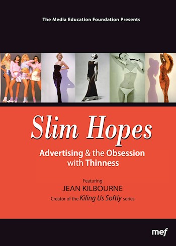 Slim Hopes: Advertising & The Obsession With Thinness documentary poster LARGE