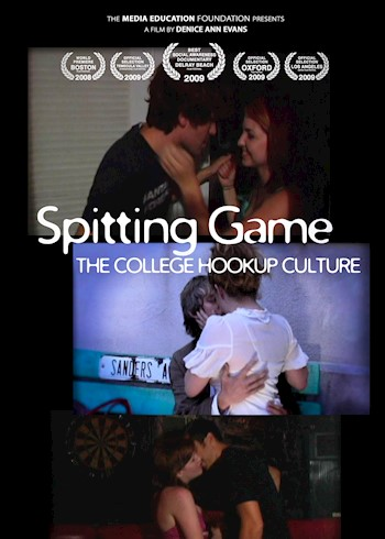 Spitting Game: The College Hookup Culture documentary poster LARGE