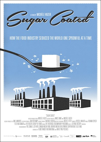 Sugar Coated: How The Food Industry Seduced The World One Spoonful At A Time documentary poster LARGE