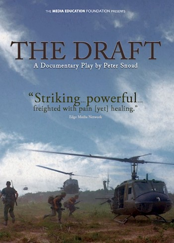 The Draft: A Filmed Play By Peter Snoad documentary poster LARGE