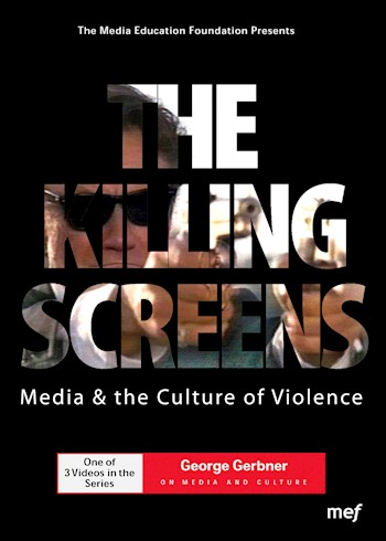 The Killing Screens: Media & The Culture Of Violence documentary poster LARGE