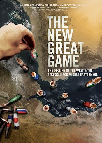 The New Great Game: The Decline Of The West & The Struggle For Middle Eastern Oil documentary poster LARGE