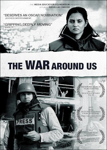 The War Around Us documentary poster LARGE