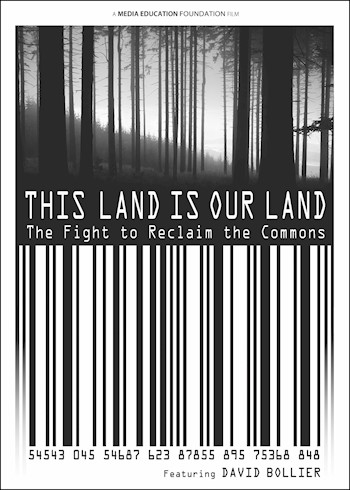 This Land Is Our Land: The Fight To Reclaim The Commons documentary poster LARGE