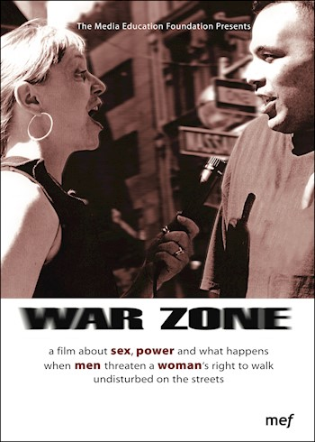 War Zone: A Film About Sex, Power & Violence Against Women documentary poster LARGE