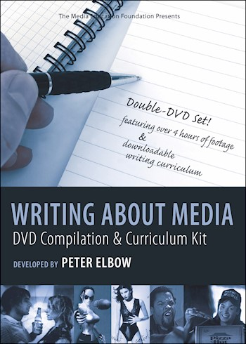 Writing About Media: DVD Compilation & Curriculum Kit Developed By Peter Elbow documentary poster LARGE