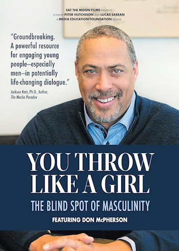 You Throw Like A Girl: The Blind Spot Of Masculinity documentary poster LARGE