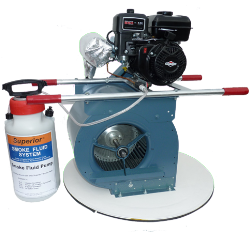 Superior 15-L High-Output Manhole Air/Smoke Blower for use with Superior Smoke Fluid