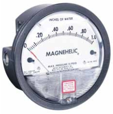 Dwyer Series 2000 magnehelic static pressure gage from MeterMall