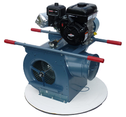 Superior 25-L High-Output Manhole Air/Smoke Blower with Auxiliary Output for use with Superior Smoke Fluid