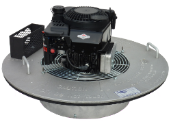 Superior 30-S Low-Profile Manhole Smoke Blower for use with 3C Smoke Candles