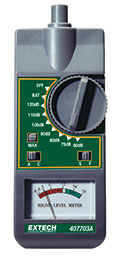 407703A Analog Sound Level Meter MAIN