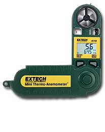 45158 Extech Mini Thermo-Anemometer w/ Humidity