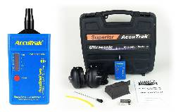 Superior AccuTrak® VPE Ultrasonic Leak Detector--Professional Kit with Hard Hat Headphones