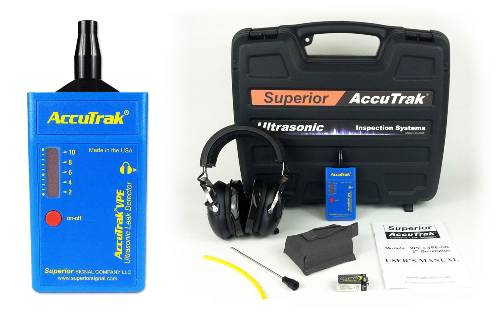 Superior AccuTrak® VPE Ultrasonic Leak Detector--Professional Kit